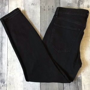 GAP 1969 True Skinny Ankle Jeans in Black - 529